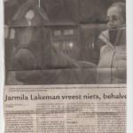 Jarmila Lakeman naar het WK